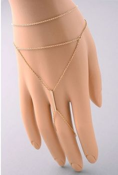 Exotica Ring to Bracelet Chain Set