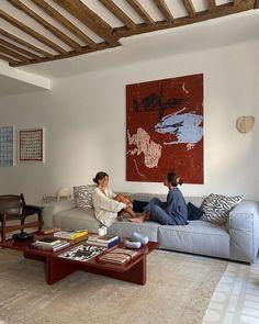 Home Interior Design, Interior Architecture, Interior And Exterior, Interior Decorating, Home Living Room, Living Room Decor, Living Spaces, Decoration, House Design
