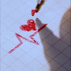 How To Draw heart paperwww. How To Draw heart ? The stunning art work is created with Bold Line Glitter Pens ? Bullet Journal Art, Bullet Journal Ideas Pages, Bullet Journal Inspiration, Pencil Art Drawings, Easy Drawings, Art Sketches, Drawings On Lined Paper, Drawing Art, Gel Pen Art