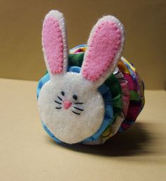 Yoyo Bunny - picture only for rabbit see PIN for yellow chick for more informaiton on how to put one together