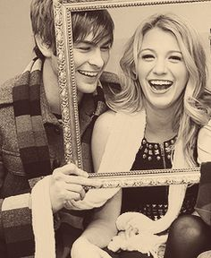 chace crawford & blake lively #gossipgirl