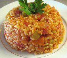 Sebzeli Bulgur Pilavı Tarifi - Resimli Kolay Yemek Tarifleri