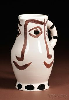 picasso ceramics catalog | ... 500 picasso madoura potteries ceramic pitcher decorated view catalog