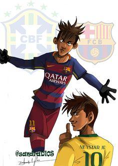 Dibujos de futbolistas by Ronaldo Valdez