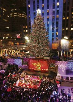 NYC Rockefeller plaza