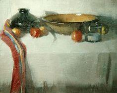 "untitled still life by Robert Lemler Oil ~ 6"" x 8"""