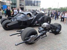Dark Knight vehicles