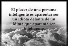 El placer de la inteligencia