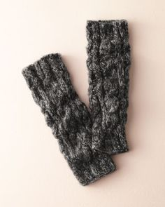 Hat Attack Marled Leg Warmers