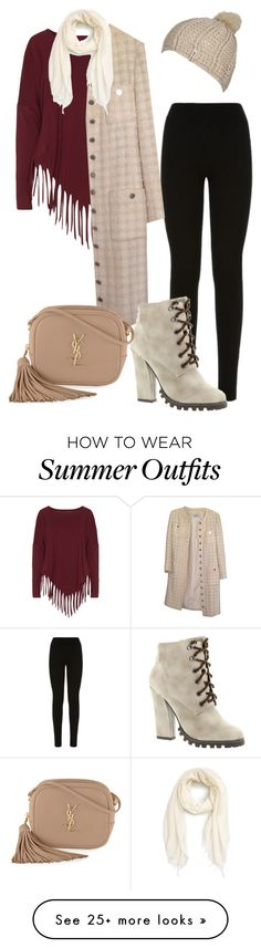 """winter"" by monicawhb on Polyvore featuring Boris, William Sharp, Chanel, Michael Antonio, Yves Saint Laurent, Nordstrom and Billabong"
