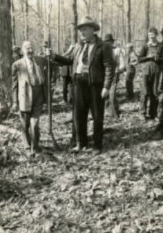 Alvin York with Jesse Lasky in Tennessee