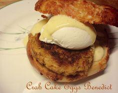 Sweet 'n' Savory Eats: Crab Cake Eggs Benedict