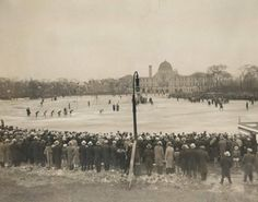 Ice skating in Garfield Park, 1931, Chicago