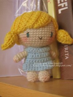 Melody design and crocheted by Indah ~Amigurumi CharleneGift~