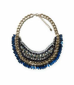 ZARA - WOMAN - GEMSTONE AND CHAINS NECKLACE   http://www.zara.com/bg/en/woman/accessories/jewellery/gemstone-and-chains-necklace-c499007p1597015.html