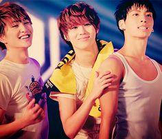 Onew, Taemin and Jonhyun