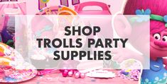 Trolls Favour Boxes - Easy DIY Tutorial | Party Delights Blog