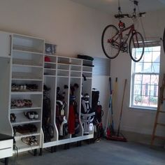 Storing Golf Clubs in Garage | 1,514 golf club rack Home Design Photos