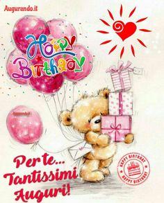 Tatty Teddy, Emoticon, Gingerbread Cookies, My Favorite Color, Happy Birthday, Diy Crafts, Joy, Happiness, Christmas Ornaments