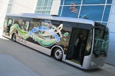 Electric bus powered by China's BYD.   Click the image to read the source article.