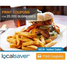 LocalSaver : Free Local Coupons http://www.mybargainbuddy.com/localsaver-free-local-coupons