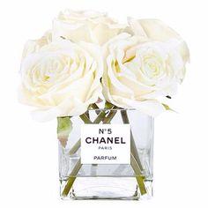 Chanel Vase, Perfume bottle vase www.luxelots.com