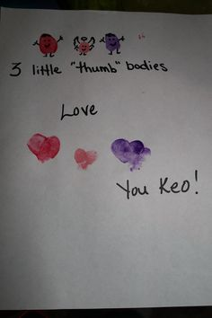 Valentine for G-ma, one grandson is in heaven ~ce