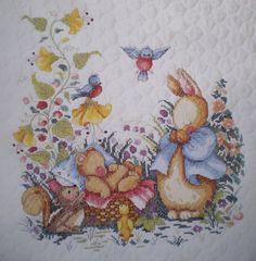 Lorri-Birmingham-New-Little-One-Crib-Cover-Quilt-Stamped-Cross-Stitch-Kit