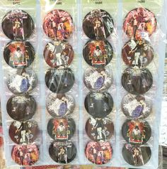 Death Note  5.8cm big 24x LOT PIN back BADGE BUTTON PARTY BAG CLOTH
