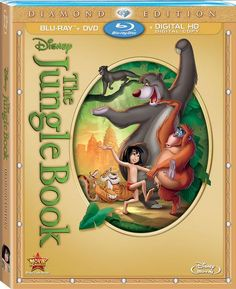 The Jungle Book Diamond Edition Blu-ray, DVD + Digital Copy