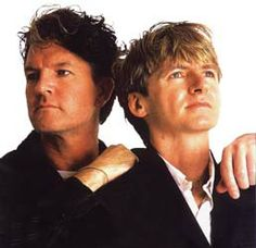 Neil Finn and brother Tim. I saw them in concert years ago during their Finn Brothers tour!