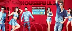 Housefull 3 Review Ratings-Releasing On Screen-Box Office Opening-Friday-3 June 2016