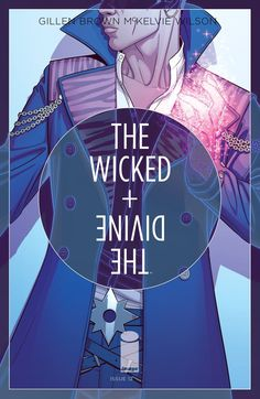 The cover to The Wicked + The Divine #12 (2015), art by Jamie McKelvie & Matthew Wilson