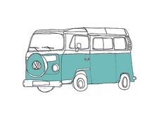hopeing to sell the audi, get a turquoise surf wagon and use the money to travel the world.