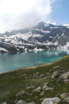 Lago Serrù, Ceresole, Piemonte Italy