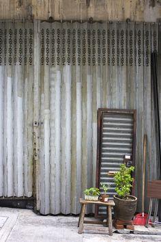 Old Shop Gates in Hong Kong  #hongkong #photography #travel