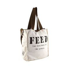 FEED Bag... Such a great cause, such a great bag!