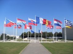 World War II Memorial in Caen, France