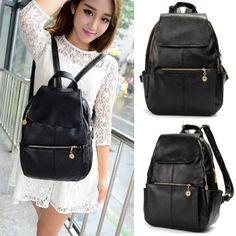 New Women's Backpack Travel Handbag Rucksack Shoulder School Bag