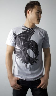 Curtis in the new Black Eagle t-shirt.    $28    Sizes: S-5XL    http://www.edzerzagallery.com/shop/naa154-black-eagle/