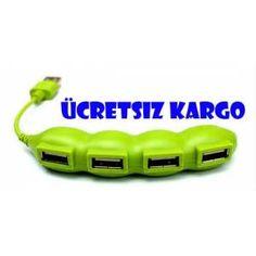 USB Çoklayıcı-Bezelye Şeklinde-Ücretsiz Kargo 19,90 TL Ücretsiz Kargo
