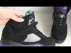 Air Jordan 5 Retro Black/ Grape 2013 *rephype*