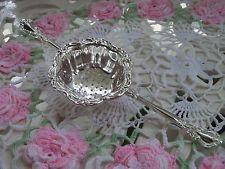 Birks Chantilly Pattern Sterling Silver Tea Strainer