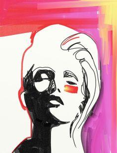 Shira Barzilay Illustration שירה ברזילי איורי אופנה