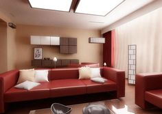 16 Gorgeous Red Living Room Ideas - Page 2 of 2 - Zee Designs