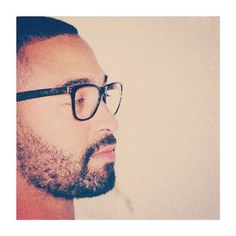 Because when he wears glasses, you find it extremely difficult to carry on with daily activities.   19 Reasons Matt Kemp Should Be The Only Man You Think About