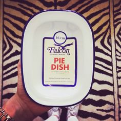 Falcon Pie Dish - Swooning over it