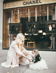*Oh, This will happen w/me and my Grand-baby in NYC! Yes, Oh Yes! #LifeGoalToDo, Ha! Me with (if its a girl) at Chanel with her in Sequins and Tulle and if its a (boy) in little Man 3 piece suit, LOL*