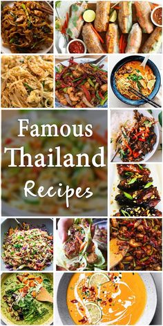 Famous Thailand Recipes That You Should Try – Yummy – Best Ideas for Dinner Indian Food Recipes, Asian Recipes, Healthy Recipes, Ethnic Recipes, Oriental Recipes, Asian Foods, Cooking Dishes, Cooking Recipes, Thailand Recipes