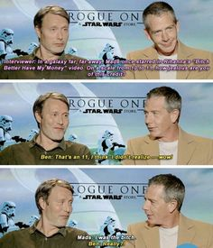 Mads Mikkelsen (lol aww his cute little face in that second pic XD)